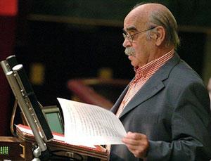Labordeta, la única voz de Aragón en Madrid